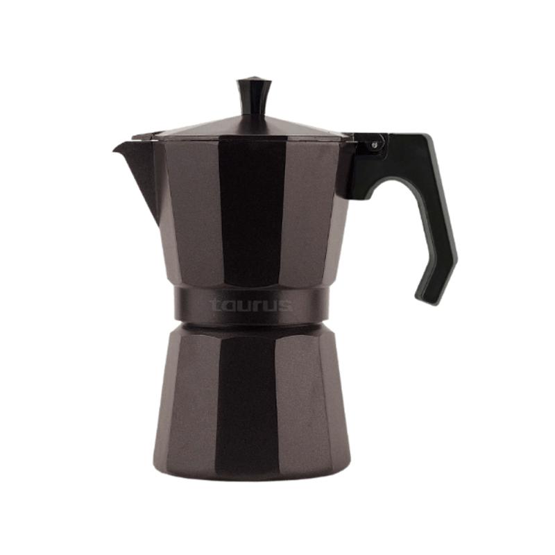 Infuzor pentru cafea Italica Elegance 6 Taurus, 6 cesti, Aluminiu 2021 shopu.ro
