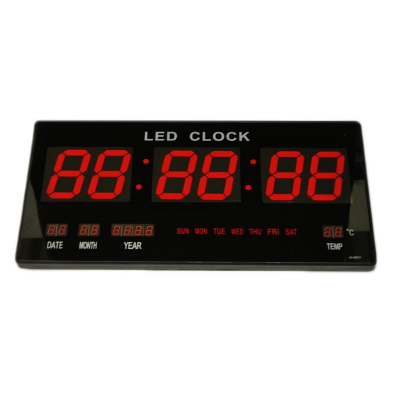 Ceas digital de perete VST-4622, LED rosu 2021 shopu.ro