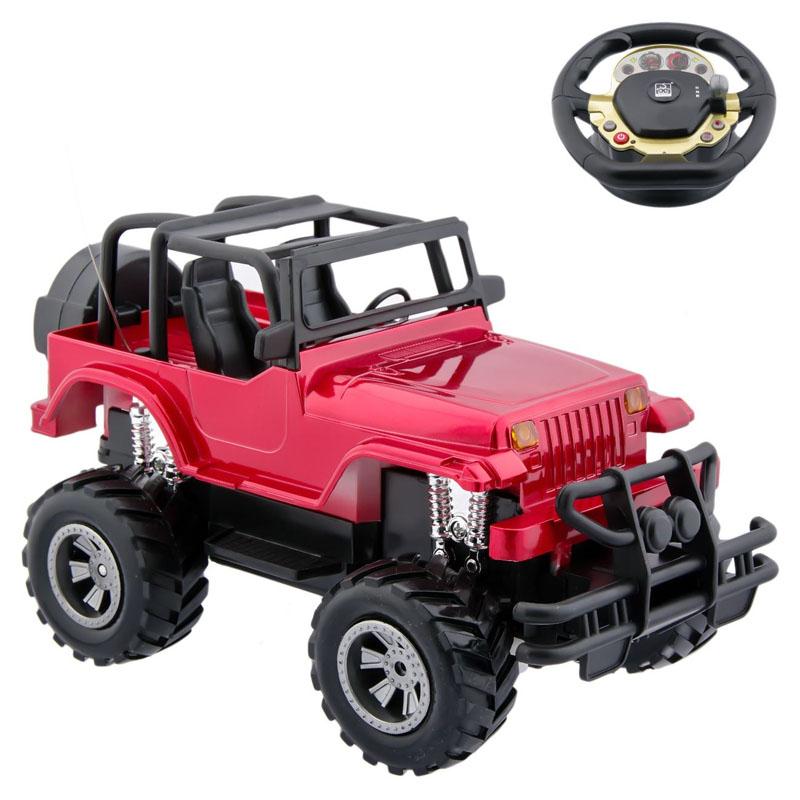 Jeep cu telecomanda tip volan, 20 cm, cablu UBS 2021 shopu.ro