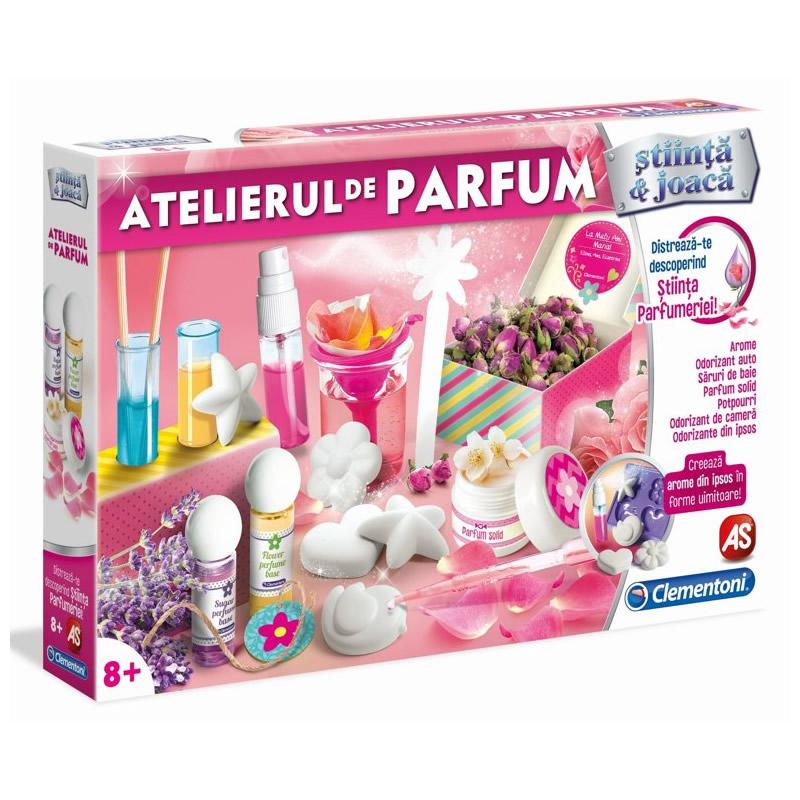 Joc creativ Atelierul de Parfum Clementoni, 8 ani+ 2021 shopu.ro