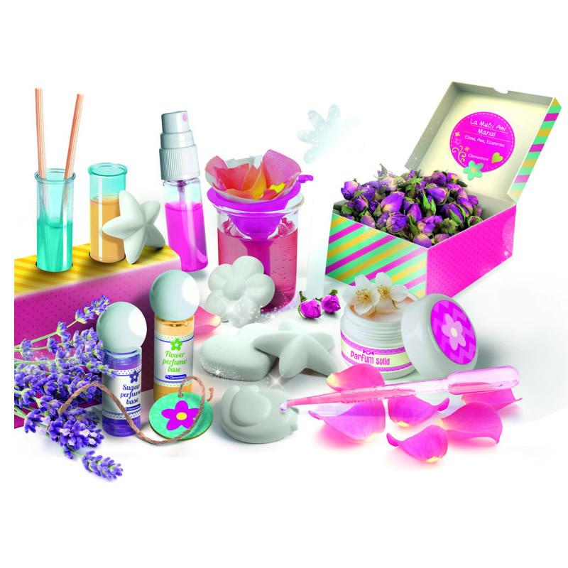 Joc creativ Atelierul de Parfum Clementoni, 8 ani+