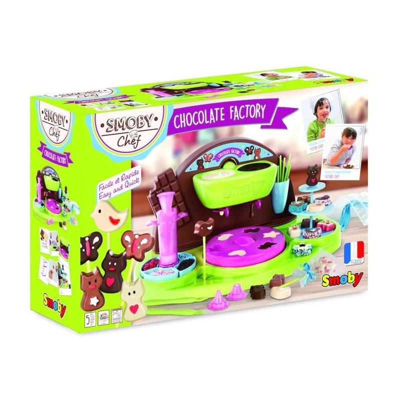 Joc creativ Fabrica de Ciocolata Smoby, 5 ani+