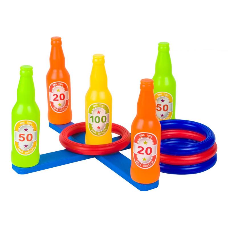 Joc de aruncat inele Liveup Junior, 4 inele incluse 2021 shopu.ro