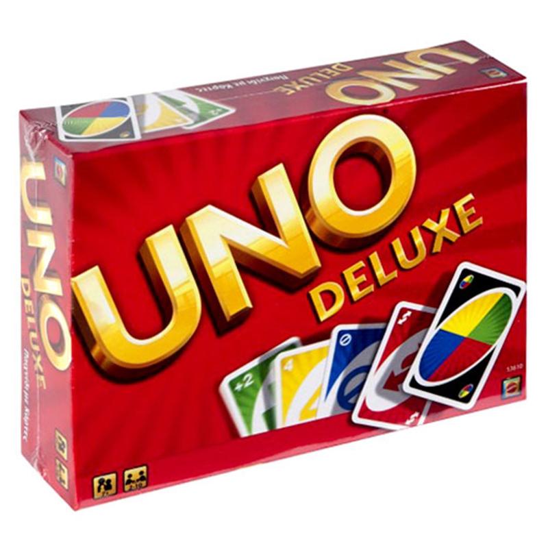 Joc de carti Uno Deluxe, 2-10 jucatori 2021 shopu.ro