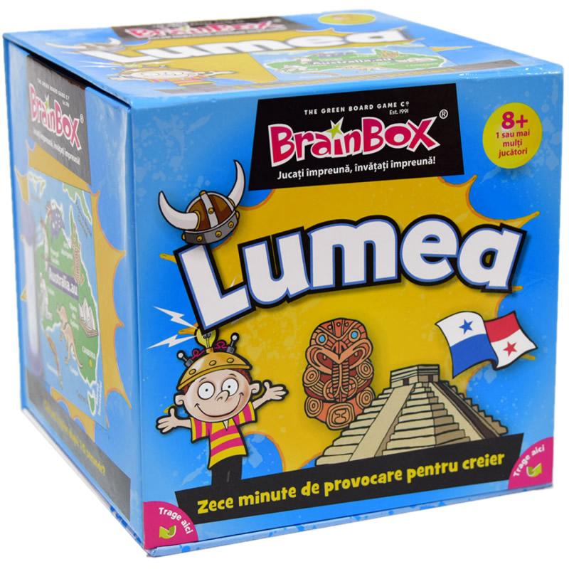 Joc de familie Lumea BrainBox, maxim 6 jucatori, 8 ani+