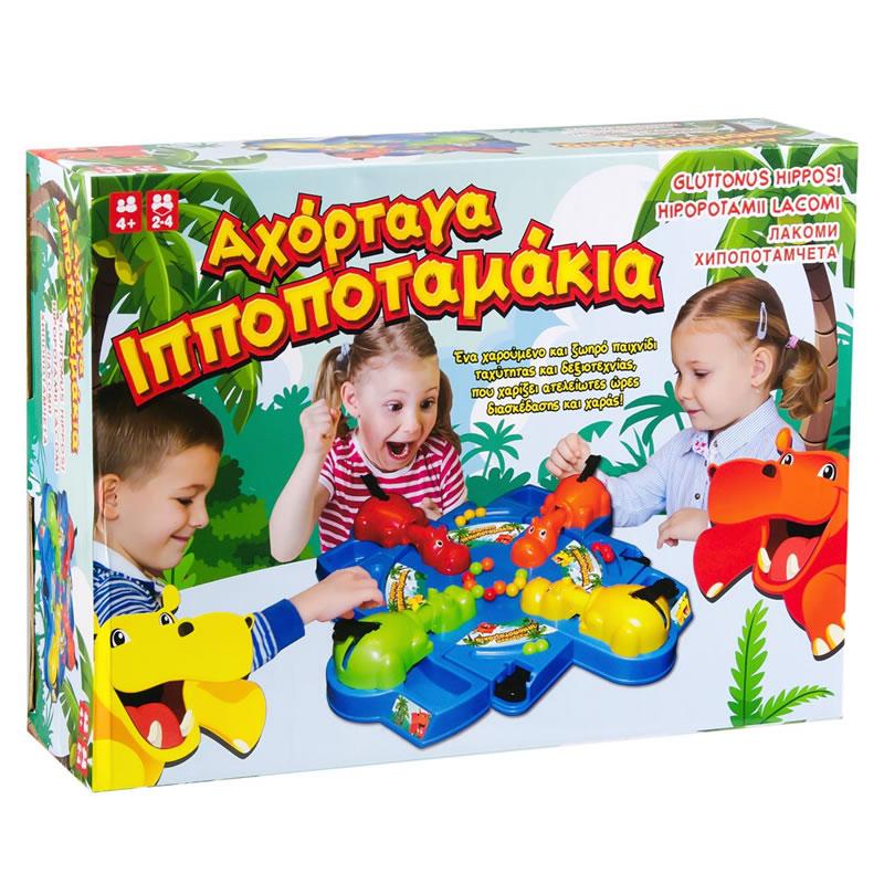 Joc de masa Hipopotamii mancaciosi, maxim 4 jucatori 2021 shopu.ro