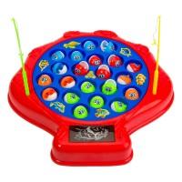 Joc de pescuit, 5 undite, 21 pestisori, tabla rotativa
