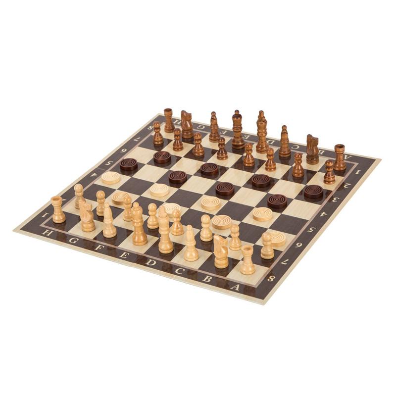 Joc de sah 3 in 1 Checkers Backgammon, 6 ani+