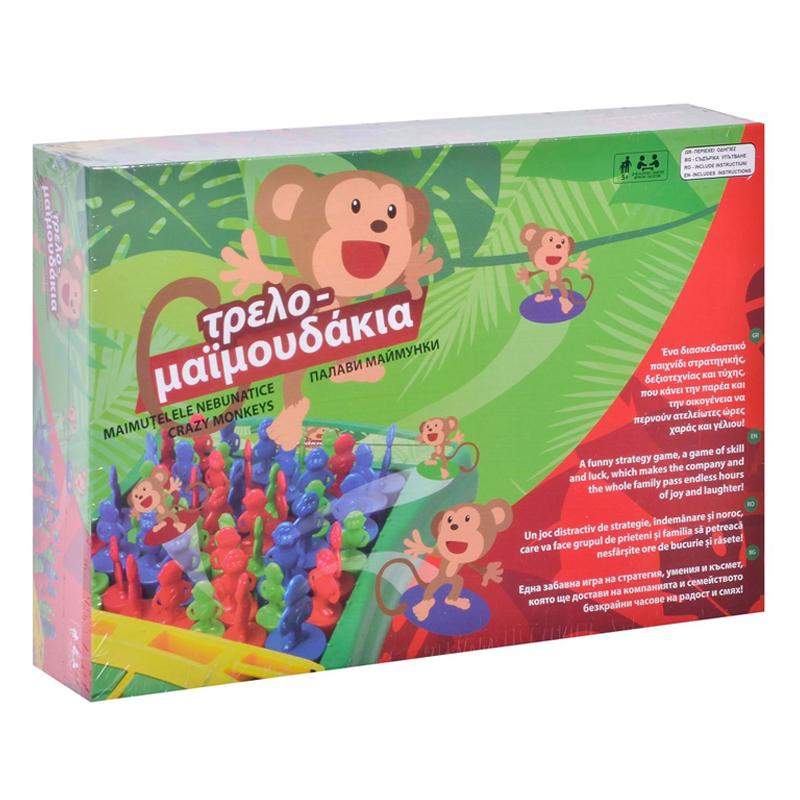 Joc de societate Crazy Monkeys, 2-6 jucatori 2021 shopu.ro