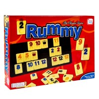 Joc de societate Rummy Clasic TSA, 2-4 jucatori