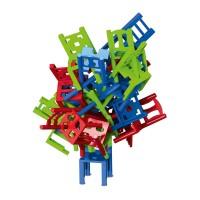 Joc de societate cu scaune Trefl, 24 piese, 5 ani+