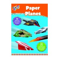 Joc educational Avioane din hartie, dezvolta motricitatea