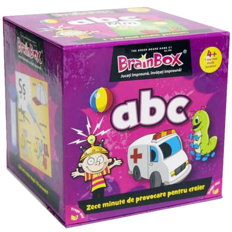 Joc educativ ABC BrainBox, maxim 6 jucatori, 4 ani+ 2021 shopu.ro