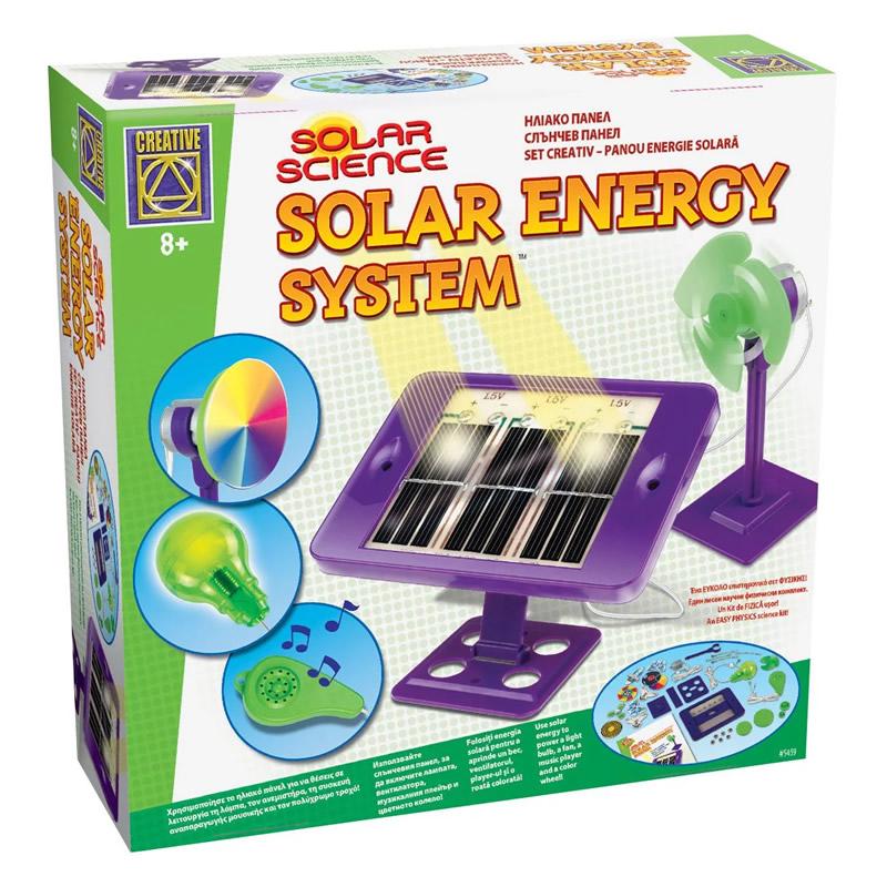Joc educativ Construieste un Panou Solar, 8 ani + 2021 shopu.ro