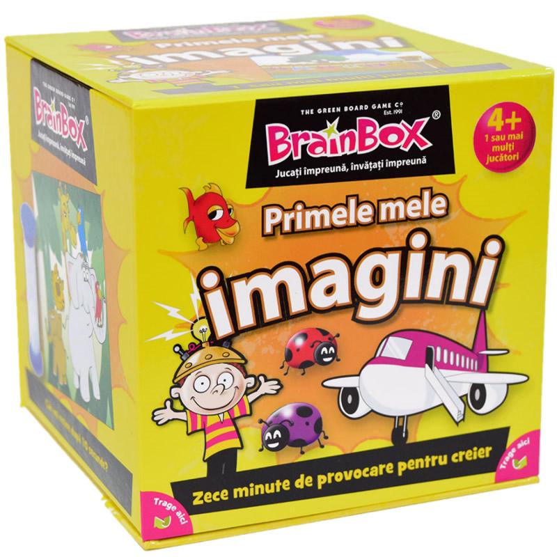 Joc interactiv Primele mele imagini BrainBox, maxim 6 jucatori, 3 ani+