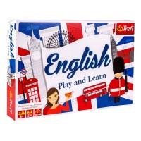 Joc pentru invatarea limbii engleze Trefl, 2-6 jucatori