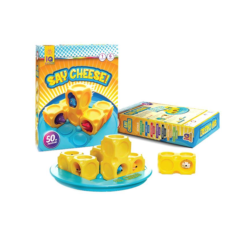 Joc Say Cheese! IQ Booster, 22 x 26 x 6 cm, 50 provocari, limba romana, 6 ani+ 2021 shopu.ro