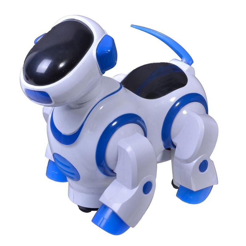 Jucarie catel robot Dancing Dog, lumini si sunete 2021 shopu.ro