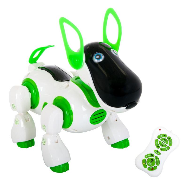 Jucarie catel robot Robodog, lumini si sunete, telecomanda