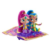 Jucarie covorul magic Shimmer and Shine, 2 papusi incluse