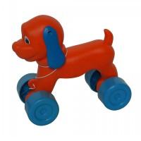 Jucarie de tras pentru copii, catel Puppy, plastic, 23 x 12 x 22 cm