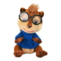 Jucarie interactiva Funny Chipmunks, 23 cm