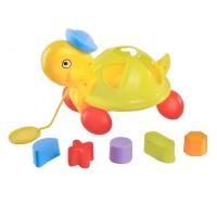 Jucarie interactiva pentru bebelusi tip Broasca Testoasa, 12 luni+