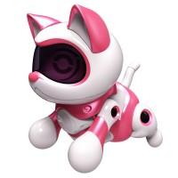 Set de joaca pisica robot Teksta Micro Pets, 12 x 9 cm, 3 ani+