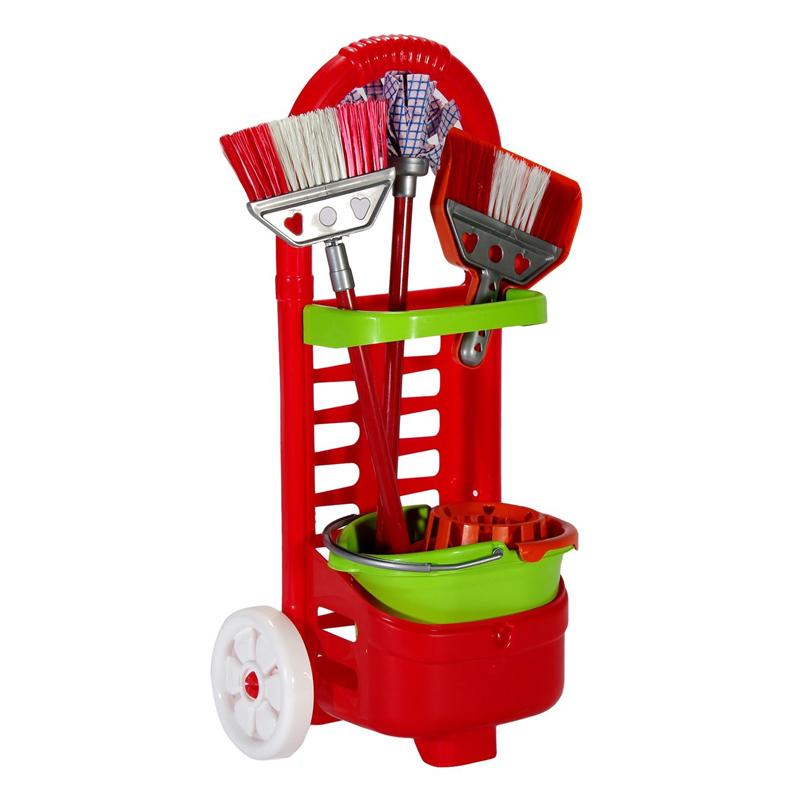 Jucarie set de curatenie pentru copii, 28 x 18 x 52 cm, 3 ani+ 2021 shopu.ro