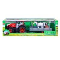 Tractor cu remorca Farmer Construction, accesorii incluse