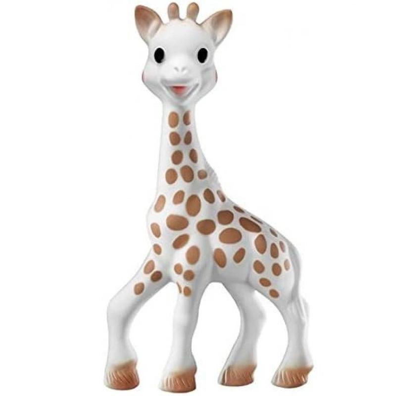 Jucarie pentru dentitie girafa Sophie Vulli, 18 x 10 x 5 cm, saculet inclus, 0 luni+ 2021 shopu.ro