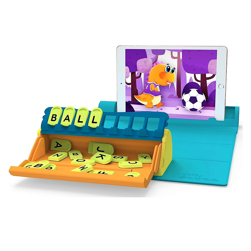 Jucarie educativa Plugo Letters Shifu, 24 x 24 cm, gamepad pliabil, 5-10 ani 2021 shopu.ro