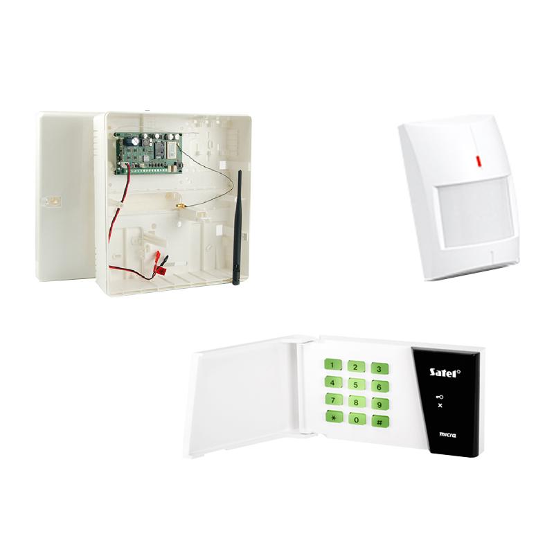 Kit sistem de alarma wireless Satel, comunicator GPRS 2021 shopu.ro
