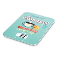 Cantar de bucatarie Beurer KS19 Breakfast, 5 kg, taste senzori