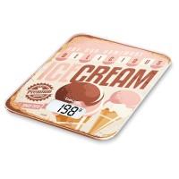 Cantar de bucatarie Beurer KS19 IceCream, 5 kg, taste senzori