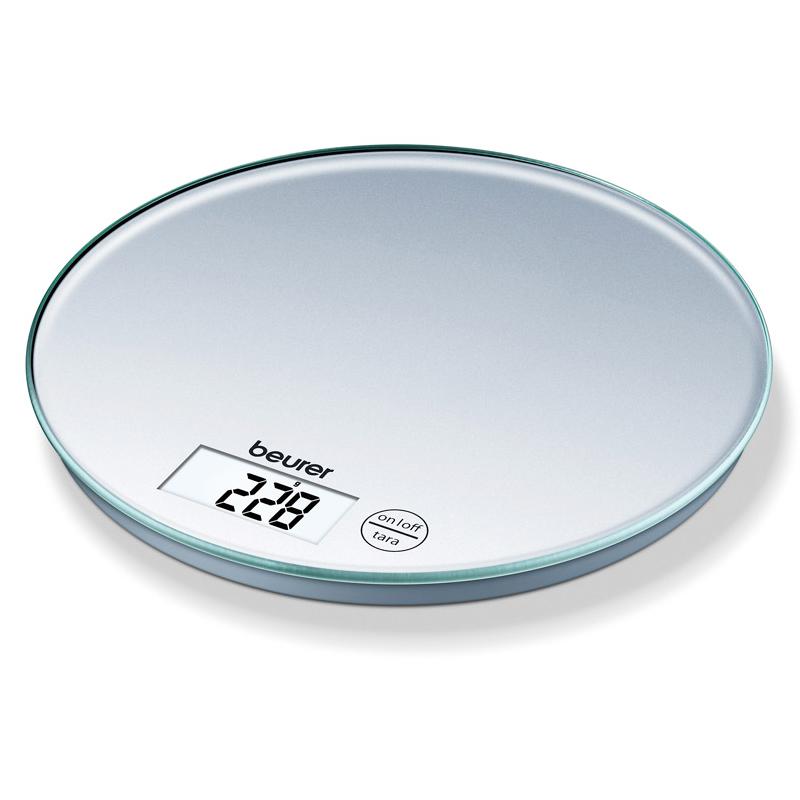 Cantar de bucatarie rotund Beurer KS28, 5 kg, LCD