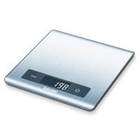 Cantar de bucatarie Beurer KS51, 5 kg, LCD, Inox, suprafata anti-amprente