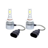 Kit 2 led-uri auto HB4 9006 C6, 48 W, 6000K, 3800 lm