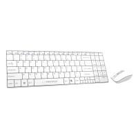 Kit Tastatura si Mouse Wireless Liberty Esperanza, Alb