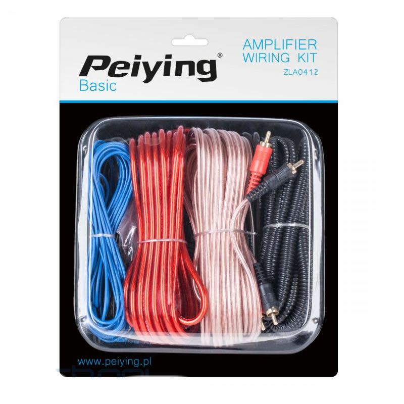 Kit cabluri auto Peiying ZLA0412, basic, 8GA 2021 shopu.ro