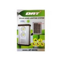 Kit lanterna cu incarcare solara DAT AT-8658