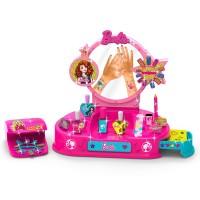 Kit manichiura pentru fetite Barbie Nail Studio, 2 x AA, 3 ani+