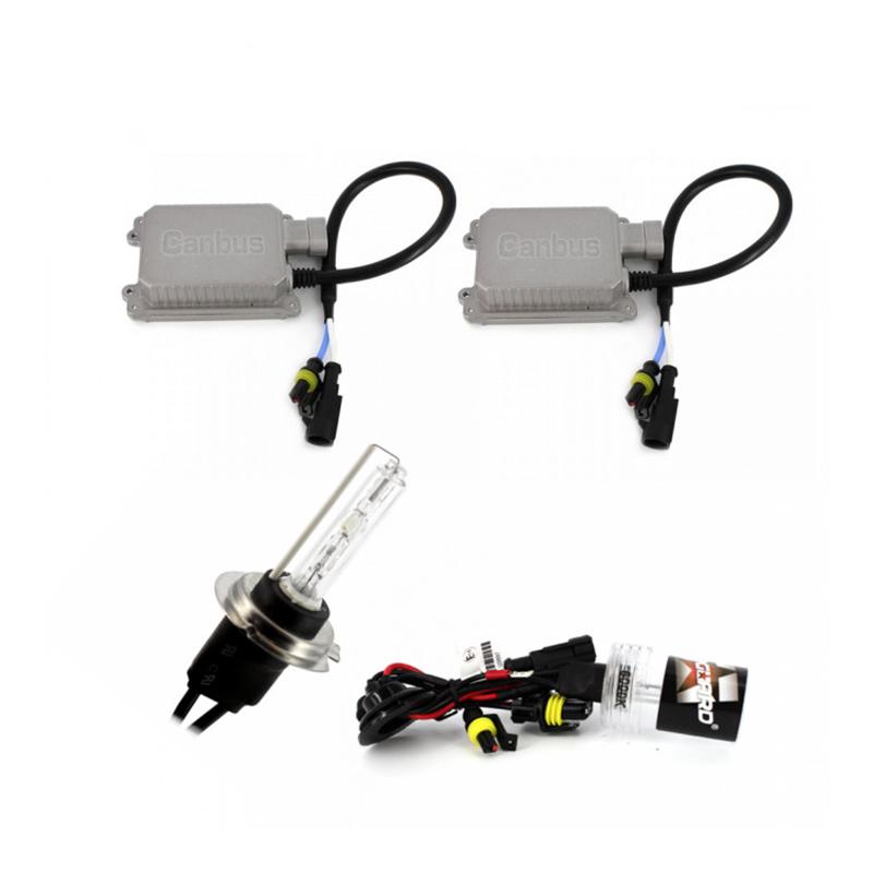 Kit xenon Carguard, 35 W, 3500 lm, 6000 K, lumina alb rece 2021 shopu.ro