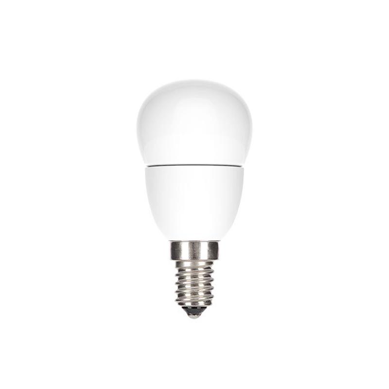 Bec cu LED GE Lighting, 4.5 W, tip sferic, E14, lumina calda 2021 shopu.ro