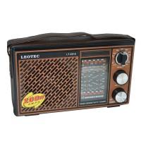 Radio portabil Leotec LT-2016, 12 benzi, curea mana
