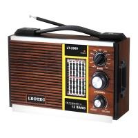 Radio portabil Leotec LT-2009, 12 benzi