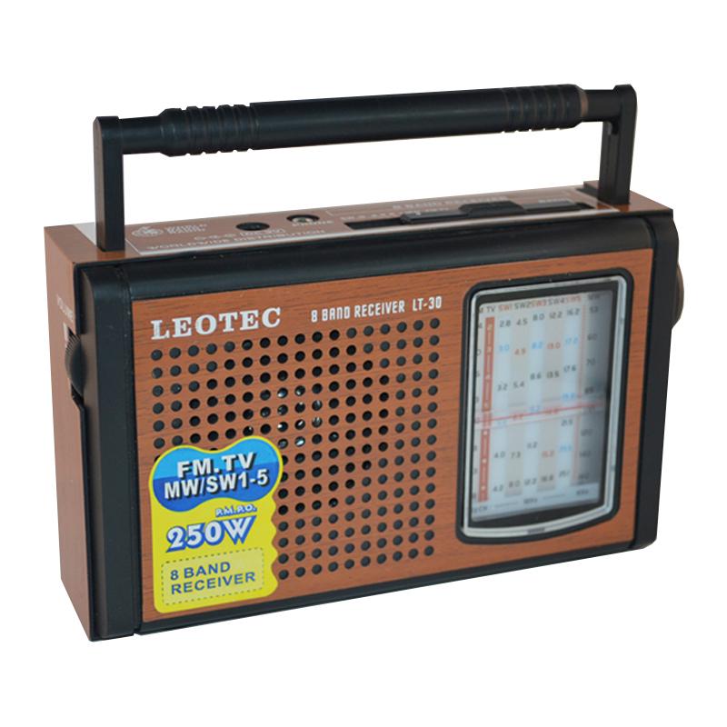 Radio portabil Leotec LT-30, 8 benzi, mufa jack 2021 shopu.ro