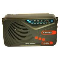Radio portabil Leotec LT-504, 4 benzi, mufa jack