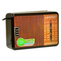 Radio portabil Leotec LT-607B, 4 benzi, mufa jack