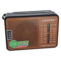 Radio portabil Leotec LT-609B, 4 benzi, mufa jack